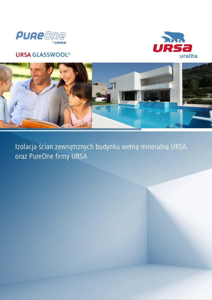 URSA - zeszyt - Izolacja ścian zewnętrznych budynku wełną mineralną