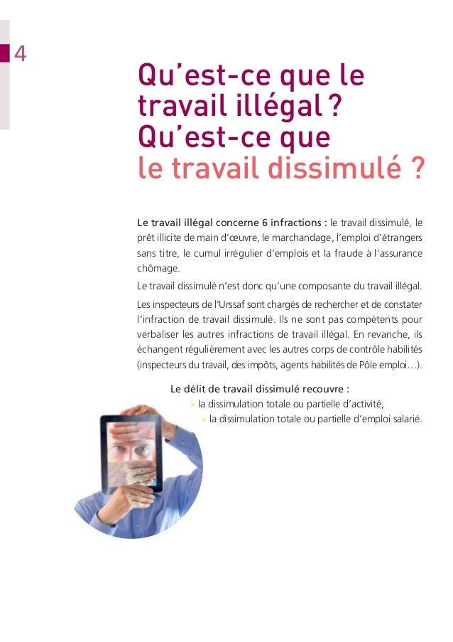 Urssaf  Guide lutte contre le travail dissimulé  2013 12