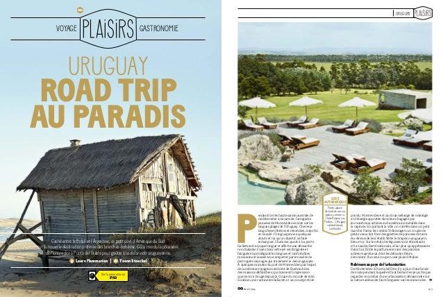 Uruguay en la revista GQ de Francia
