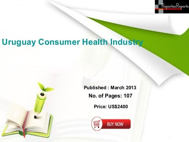 Uruguay consumer health industry