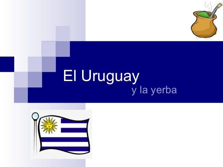 Uruguay y mate.