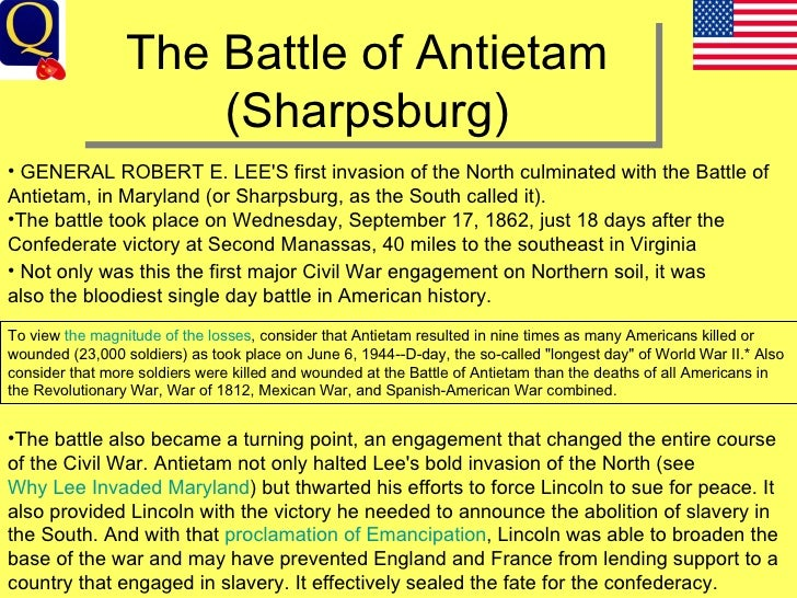 the battle of antietam essay Connar loderhose dr henley obu connections 10 december 2014 antietam research paper the topic i chose is antietam and the battle what happened there the.