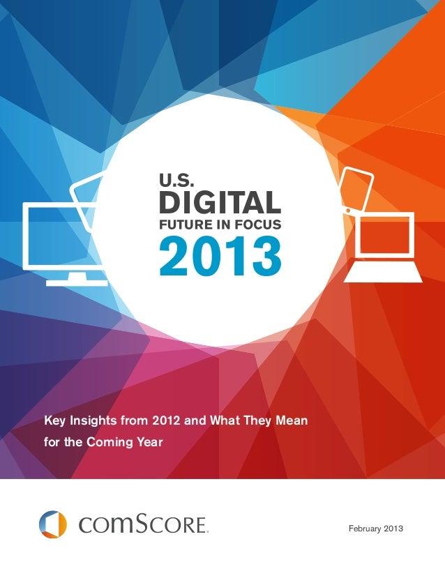 Us digital future in focus 2013
