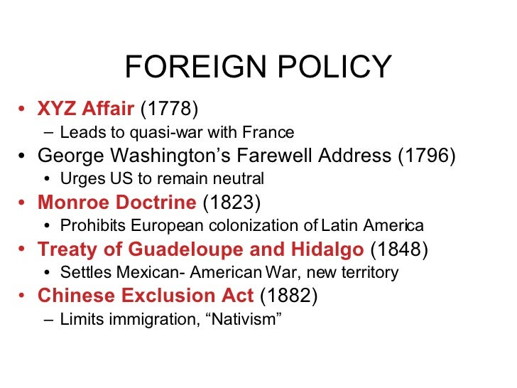 Us Foreign Policy 2