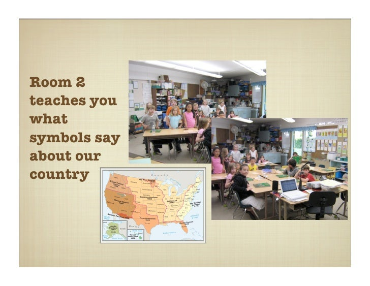 Room 2 teaches you what symbols say about our country