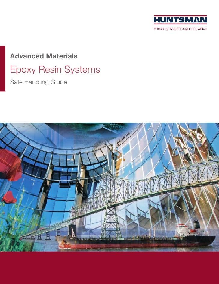 Advanced MaterialsEpoxy Resin SystemsSafe Handling Guide