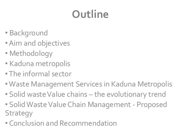 waste management business plan in nigeria In this report, joseph ushigiale examines the attempt by the akinwunmi ambode administration to revolutionise and create a win-win situation in waste.