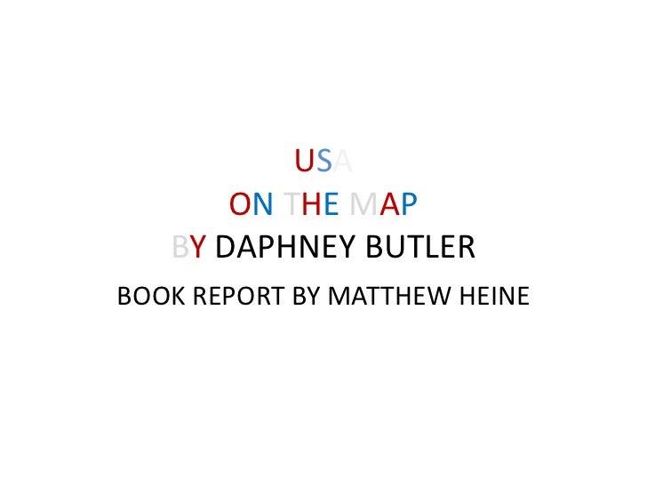 Usa book Report