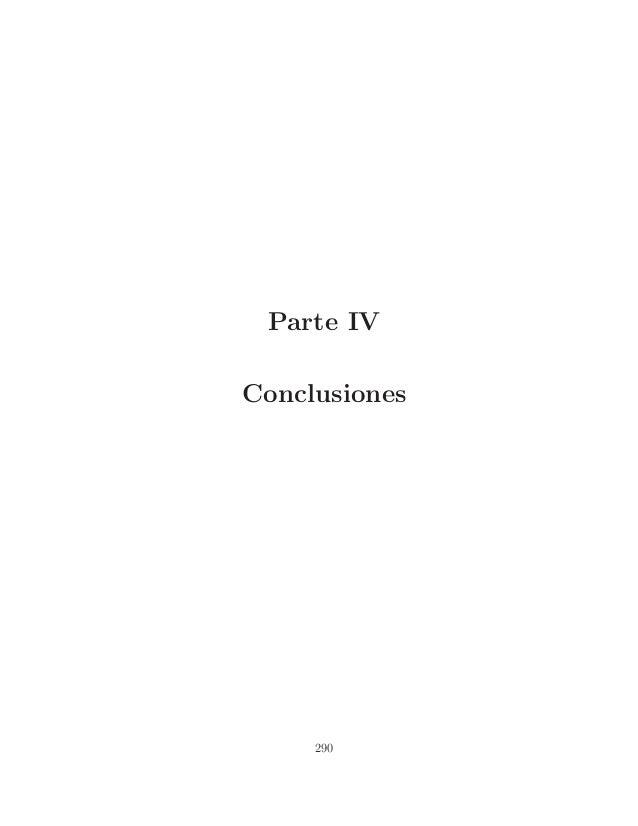Parte IV Conclusiones  290