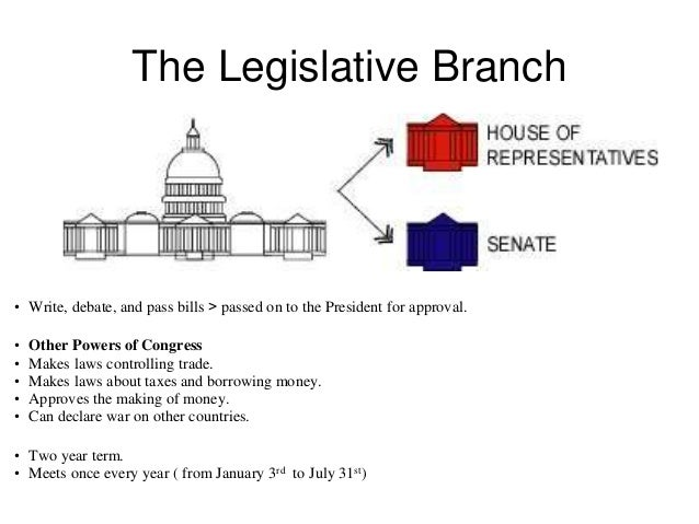 The New Relationship between the Executive and Legislative Branches
