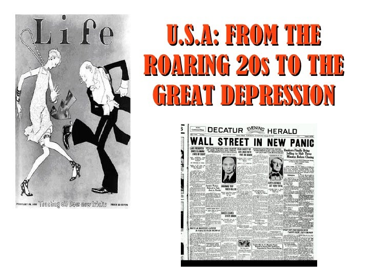roaring twenties and the great depression Roaring twenties and the great depression by: mr freeman loading livebinder roaring twenties and the great depression search: sign up log in table of contents comments 0 add to shelf copy - log in more binders stacked tabs.