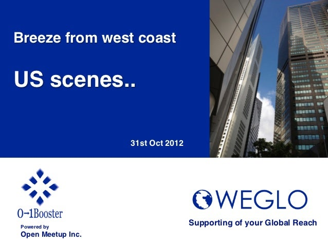 Breeze from west coast!!US scenes..!                         31st Oct 2012	    Powered by!                                ...
