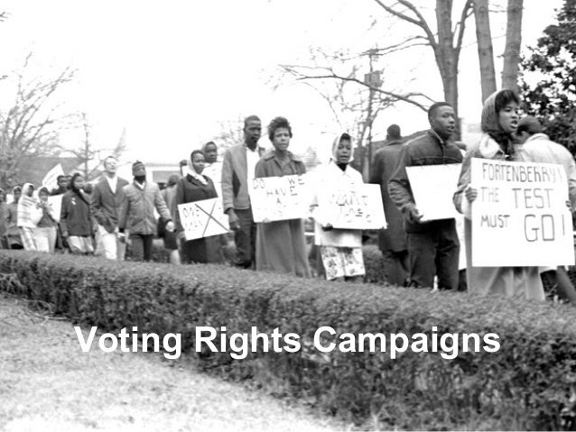 Voting Rights Campaigns