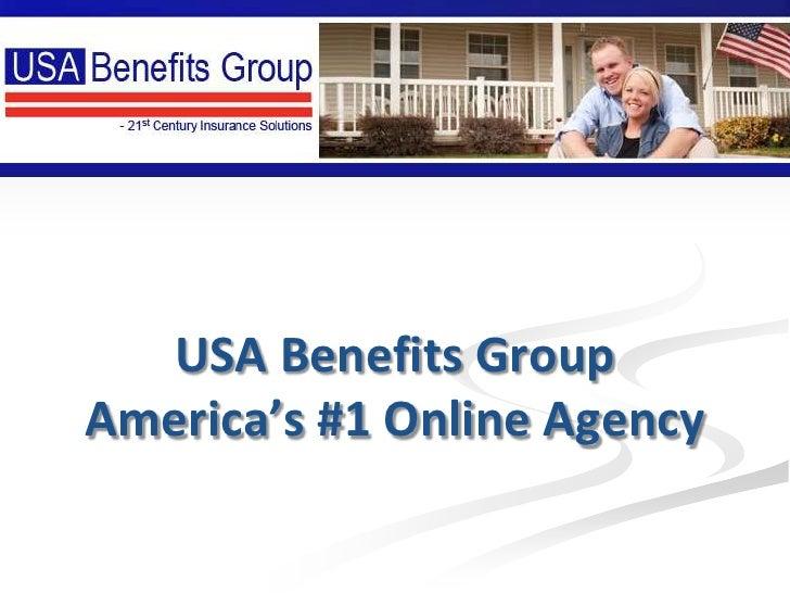 USA Benefits GroupAmerica's #1 Online Agency