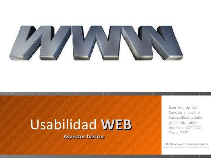 USABILIDAD WEB