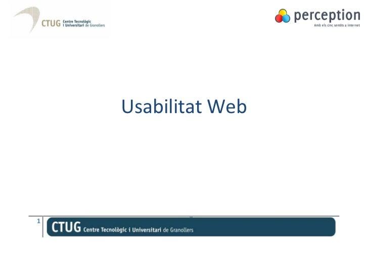Usabilitat Web1