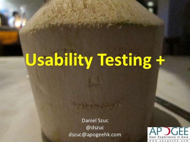 Usability testing leanuxmachine 2011