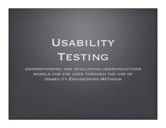 OverviewUser Centered Design practicesUsability Test?!!!Planning your Usability TestFinal word on UT and Usability.