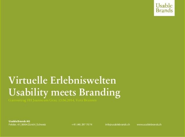Edorex, Ostermundigen, Vera Brannen, 07.03.2012 – usablebrands.ch Usable Brands AG Feldstr. 41 | 8004 Zürich | Schweiz +41...