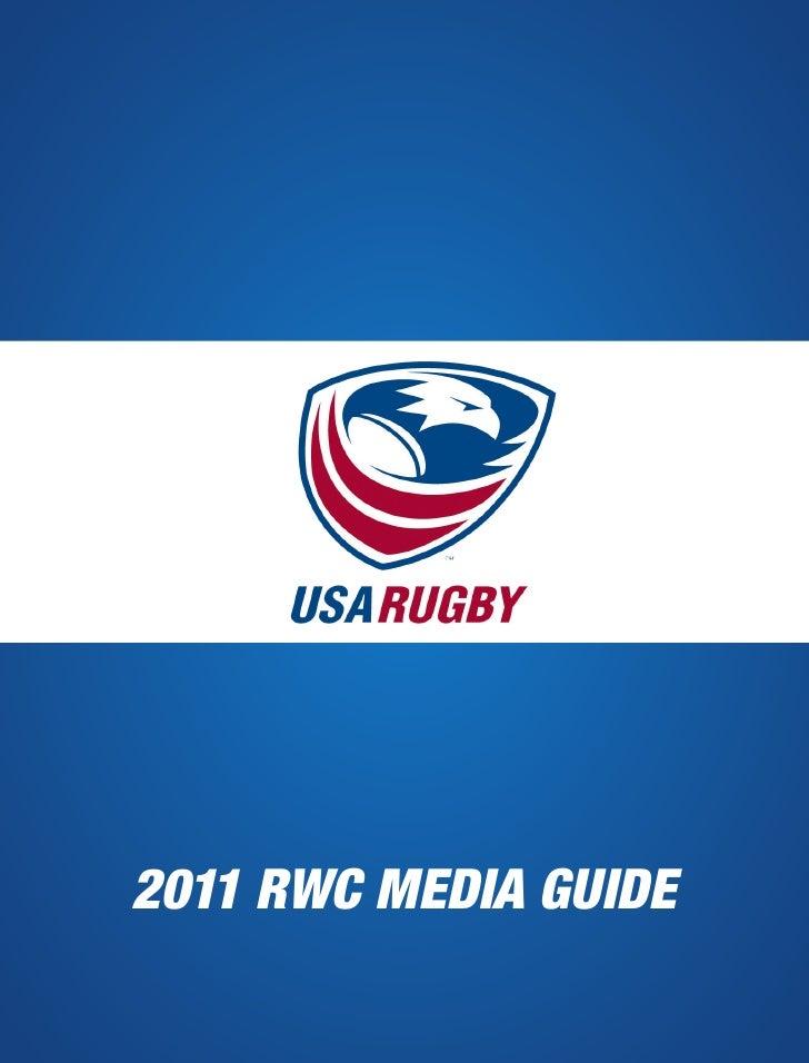 2011 RWC MEDIA GUIDE
