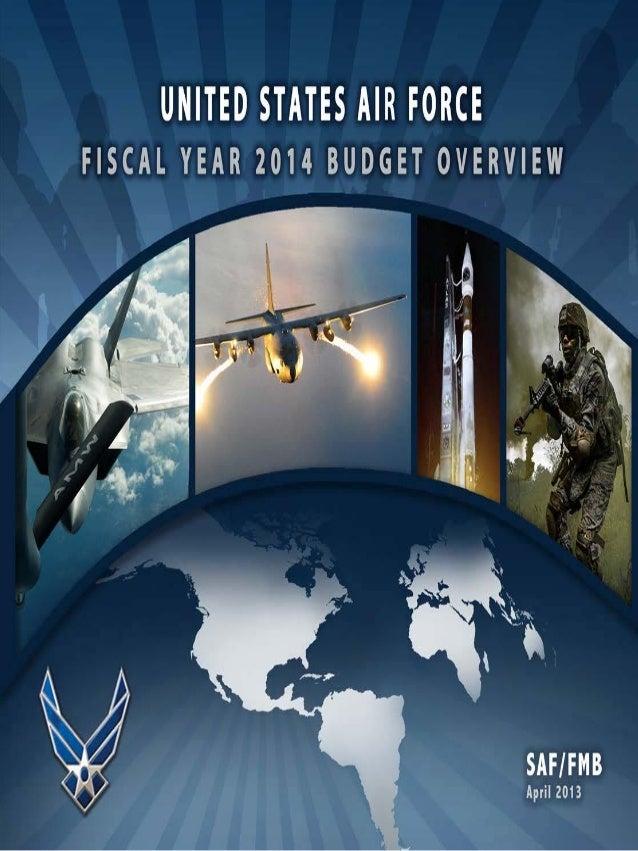 USAF FY2014 Budget Overview