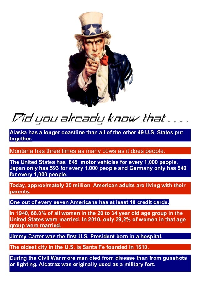 fun facts usa
