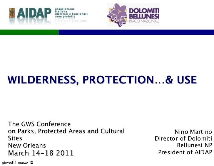 U.S.A. GWS conference  2011