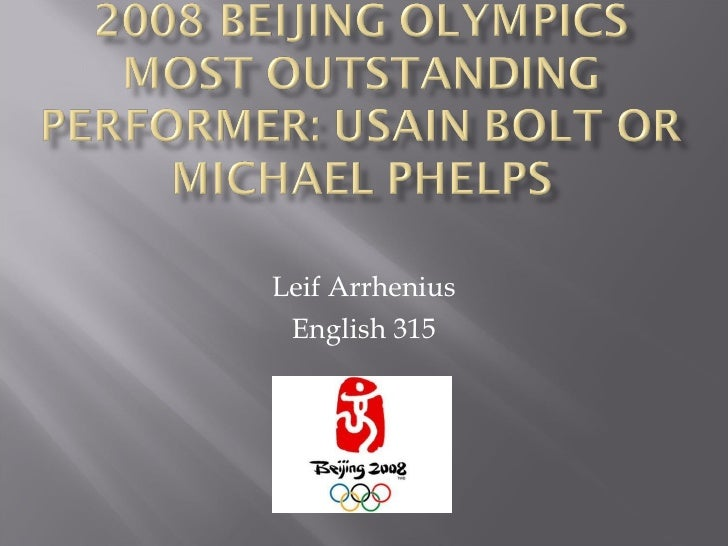 Leif Arrhenius English 315