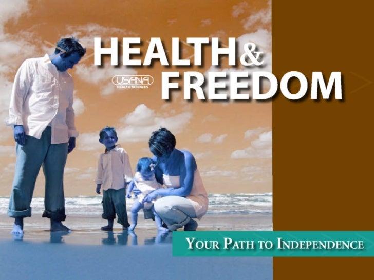 Usana Health And Freedom Presentation