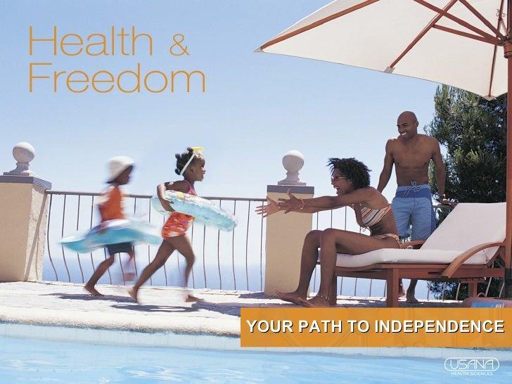 USANA Health & Freedom Presentation