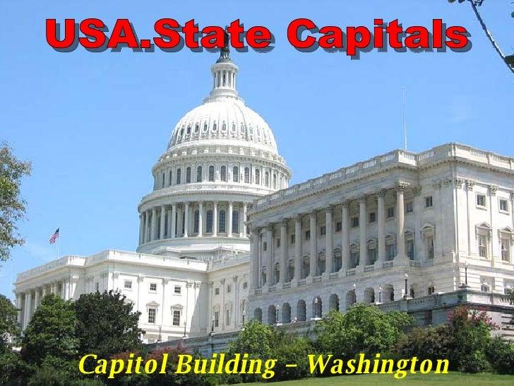 Capitol Building – Washington D.C. USA.State Capitals