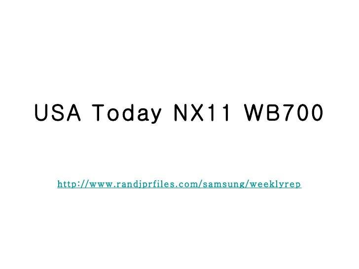 Usa today nx11 wb700