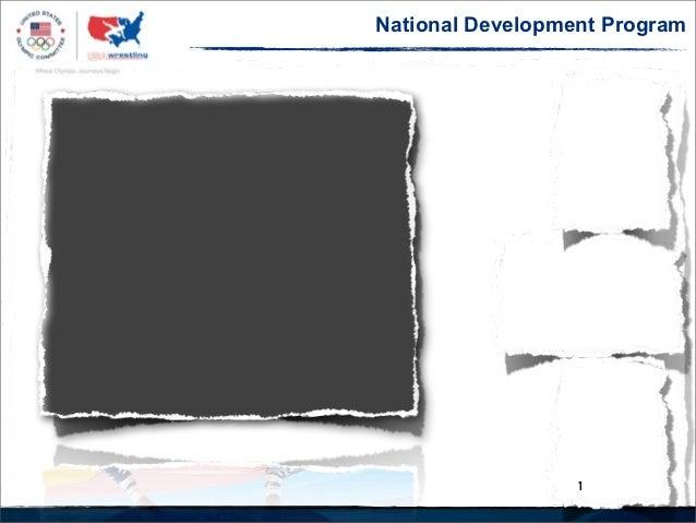 National Talent Program & Development