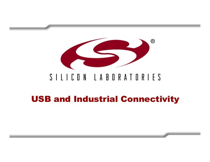 USB Training - Silicon Labs -
