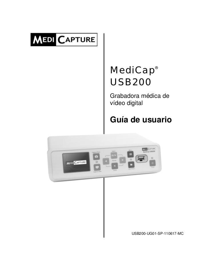 Usb200 user guide_spanish