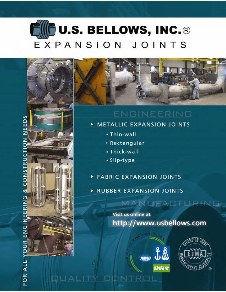 U.S. Bellows Expansion Joint Brochure