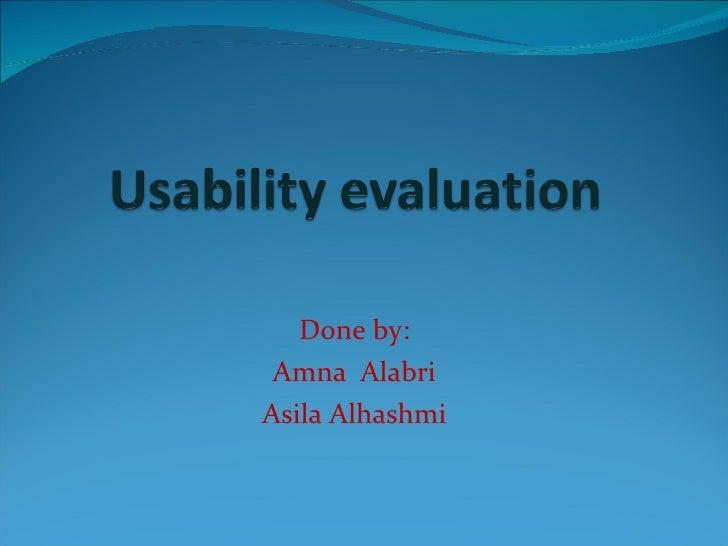 Usbility