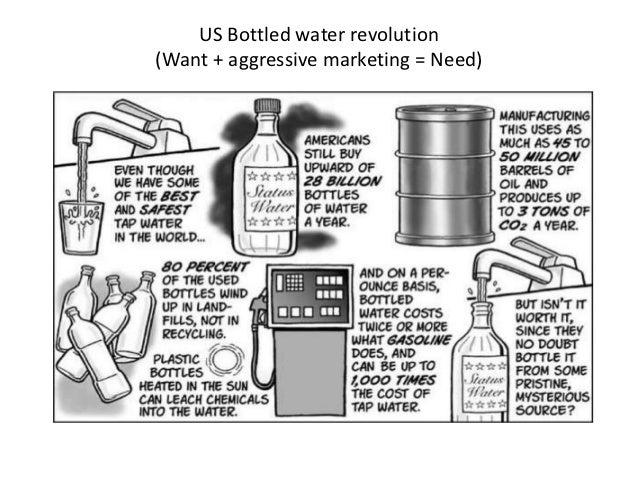 Us bottled water revolution ppt