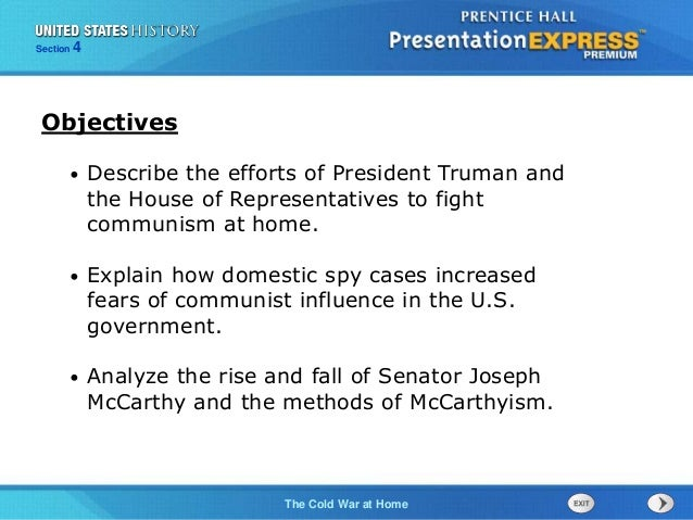 United States History Ch. 16 Section 4 Notes