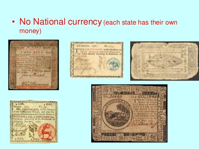 Currency articles