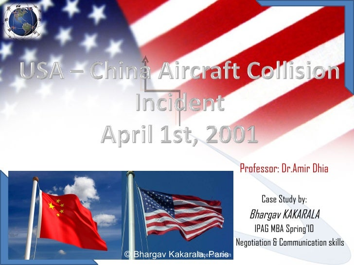 U.S.-China Aircraft Collision Incident