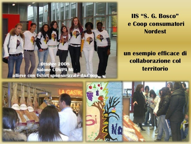 "IIS ""S. G. Bosco""                                            e Coop consumatori                                           ..."