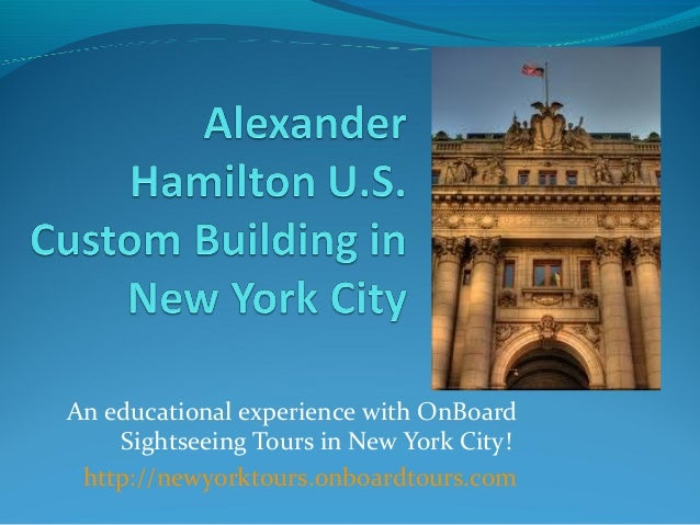 An educational experience with OnBoard    Sightseeing Tours in New York City! http://newyorktours.onboardtours.com