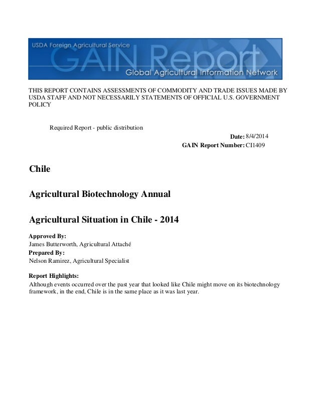 THIS REPORT CONTAINS ASSESSMENTS OF COMMODITY AND TRADE ISSUES MADE BY USDA STAFF AND NOT NECESSARILY STATEMENTS OF OFFICI...