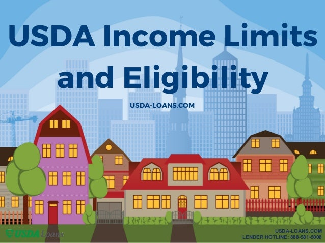 Usda income limits and eligibility for Rural housing loan utah