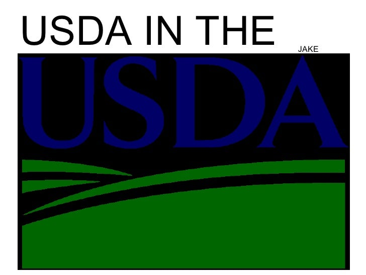 USDA in the USA