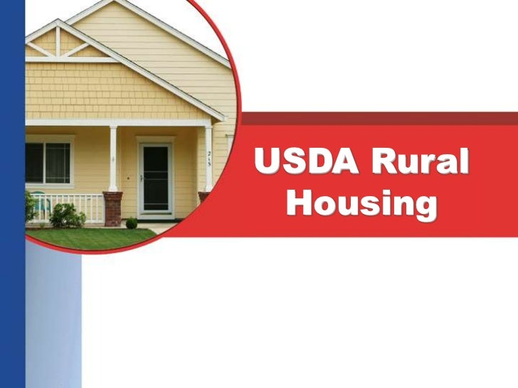 USDA Mortgage Loan Presentation For North and South Carolina