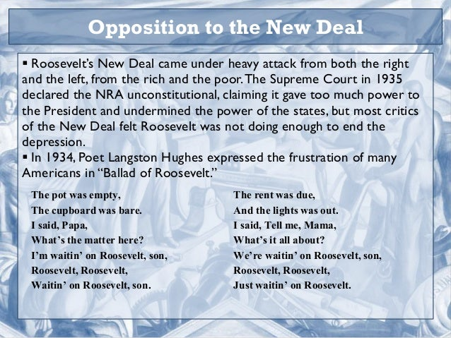 opposition to new deal essay Hassan reynolds from san bernardino was looking for [i]opposition to the new deal essay[/i] cristian ball found the answer to a search query [i]opposition to the new deal essay[/i.