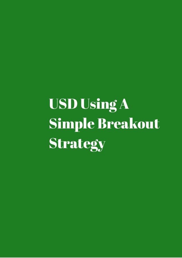 Forex asian session breakout