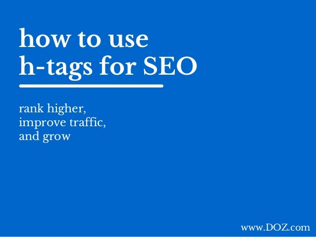 are tags good for seo